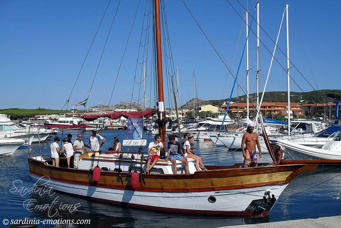 Hajókirándulás szardínia