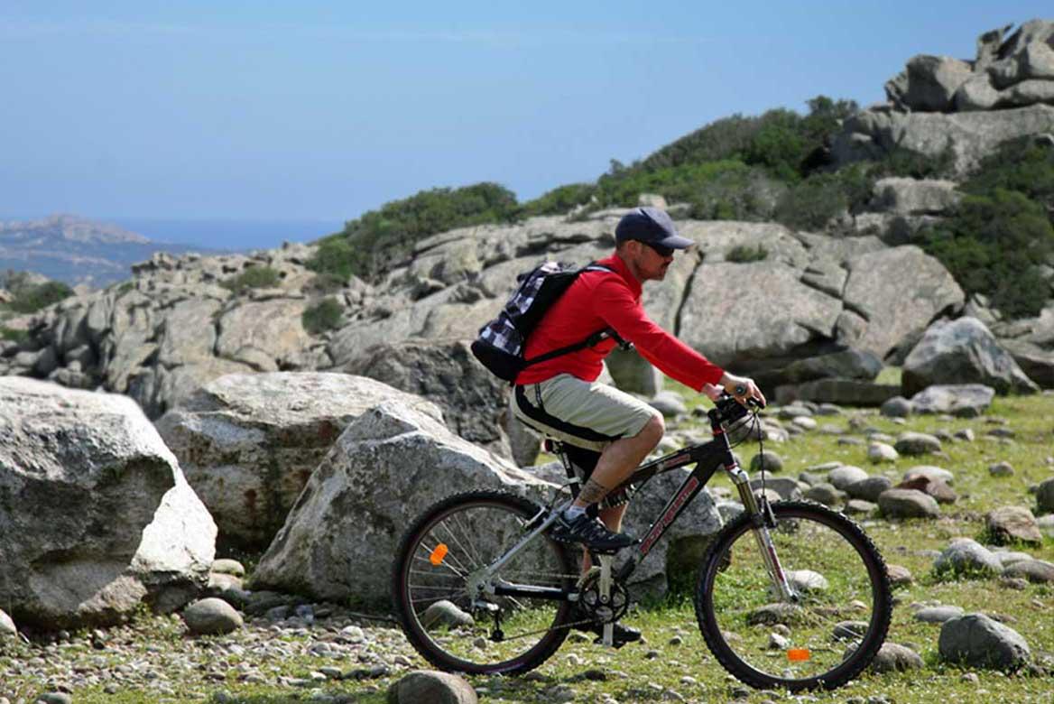 Szardínia fakultatív programok kerékpár