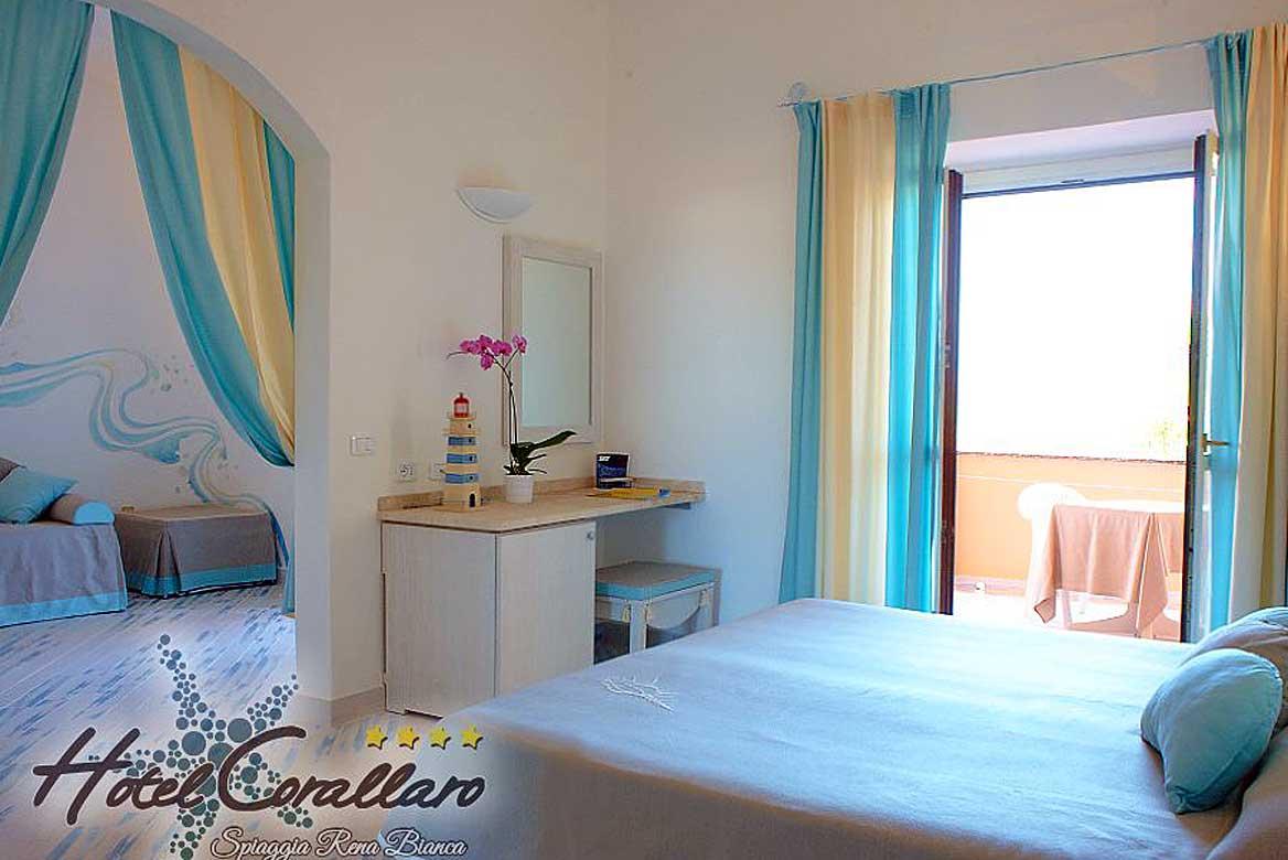 Szardínia 4 csillagos hotelek Hotel Corallaro