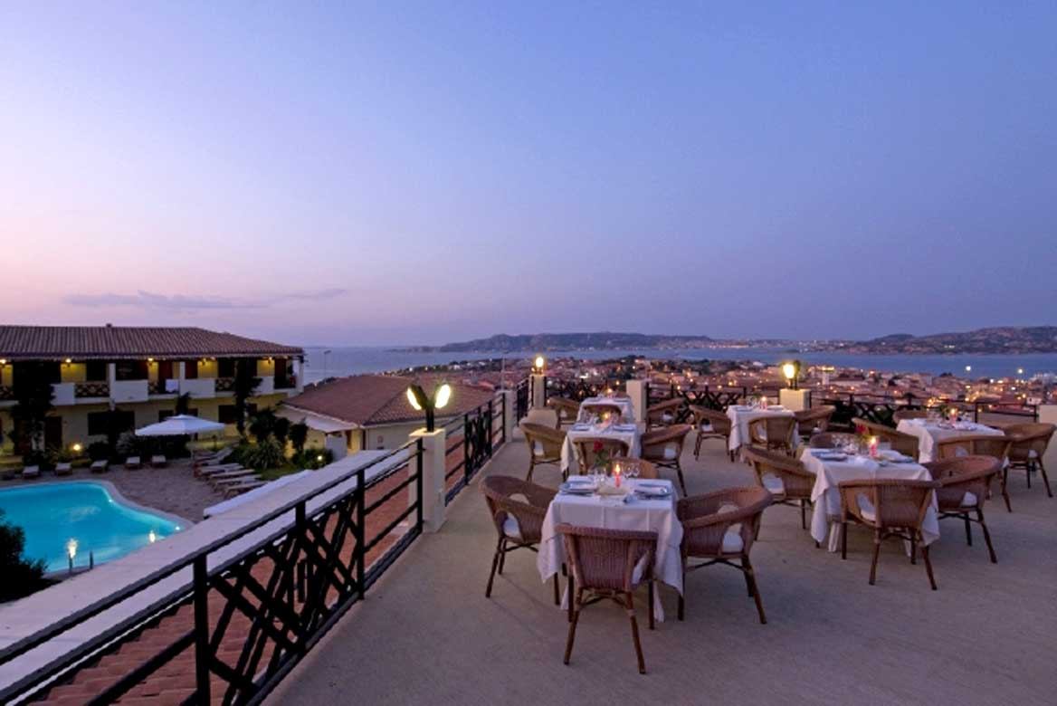 Szardínia 4 csillagos hotelek Hotel Palau