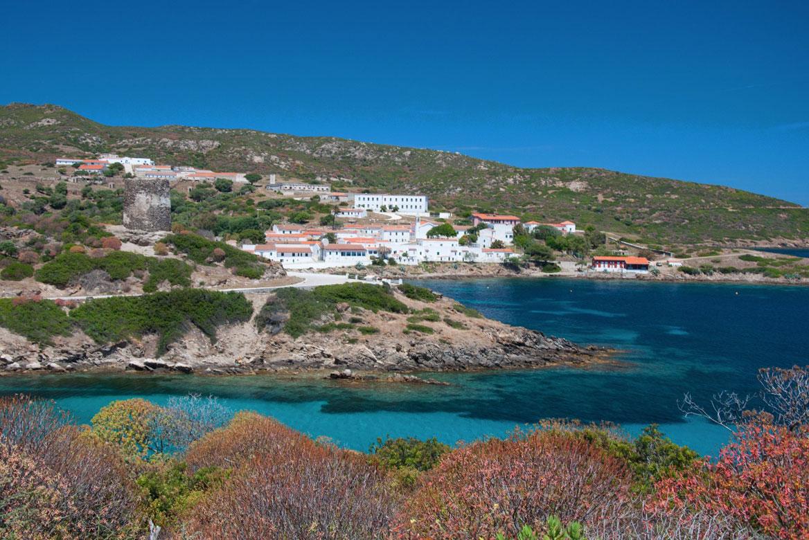 Szardínia látnivalók Asinara-sziget