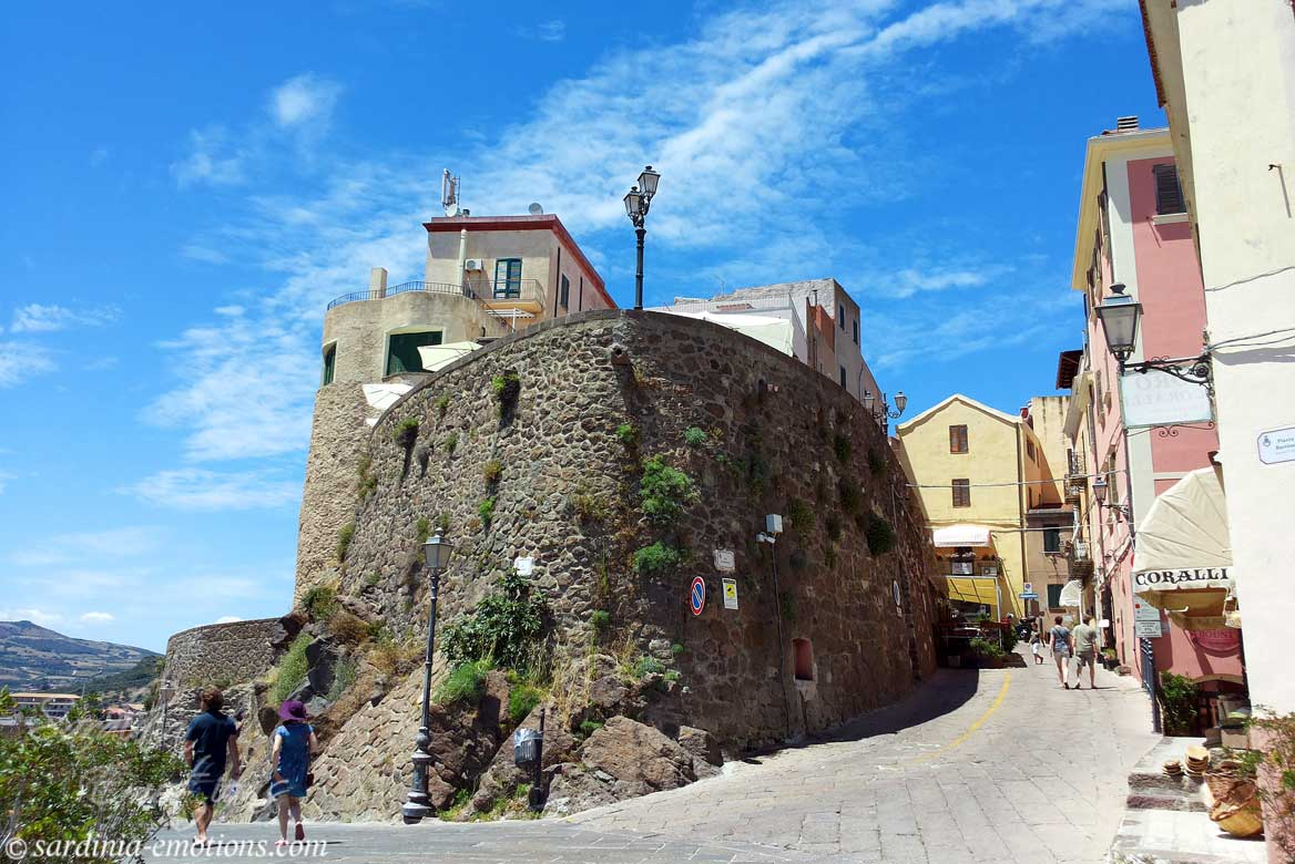 Szardínia látnivalók Castelsardo
