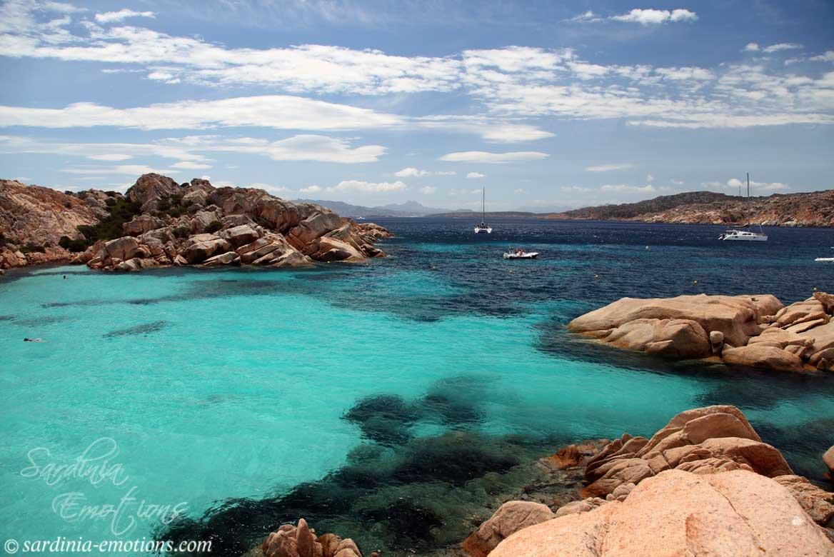 Szardínia látnivalók Caprera sziget