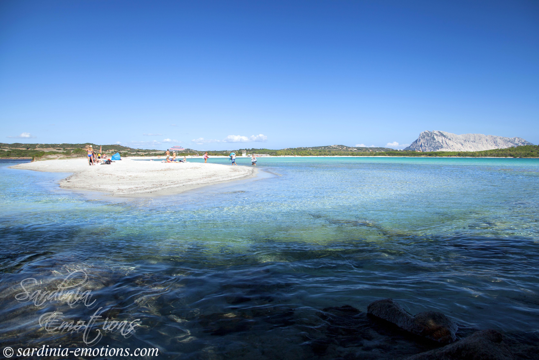 Szardínia, fehér homokos strandok