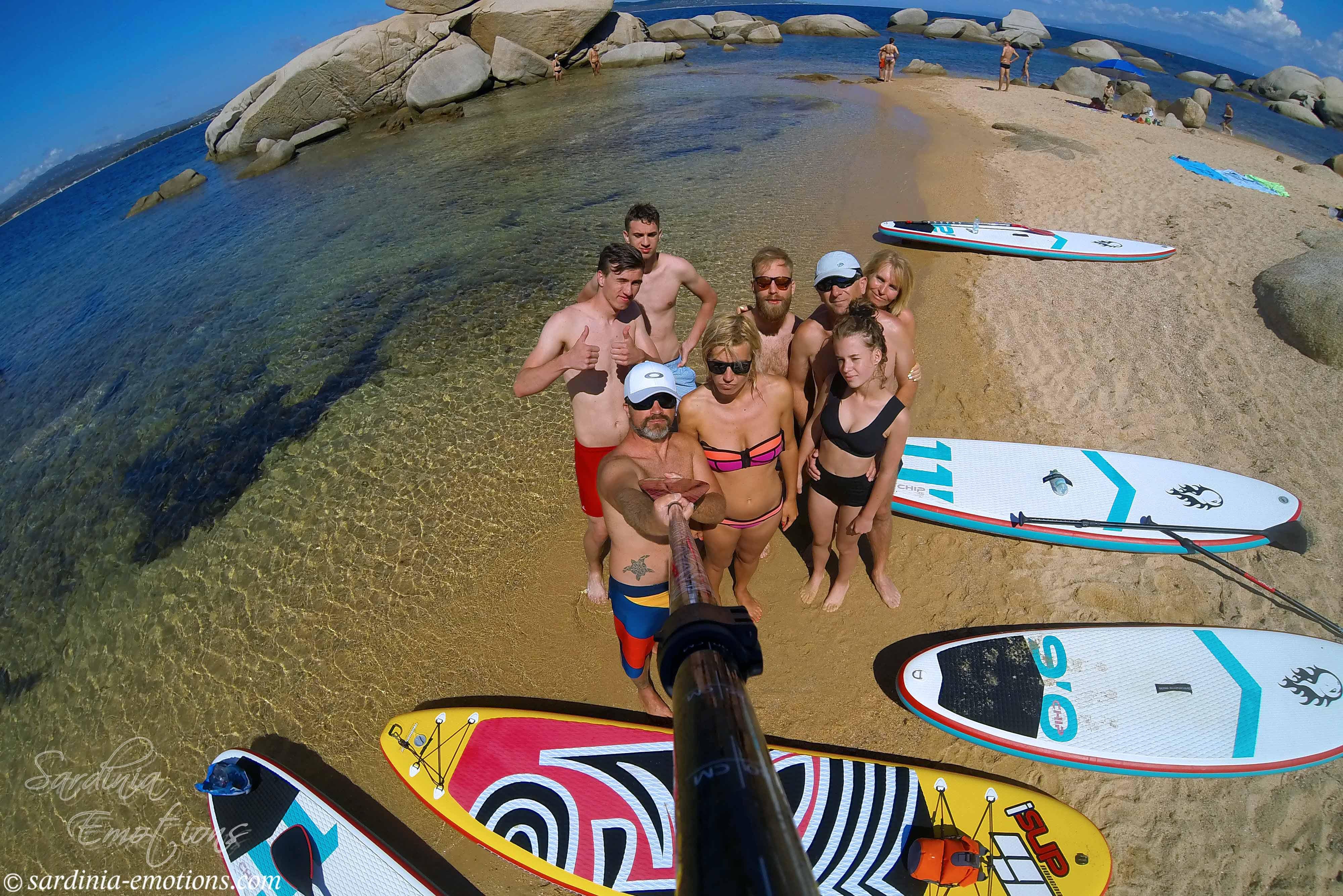 SUP Tour Sardinien