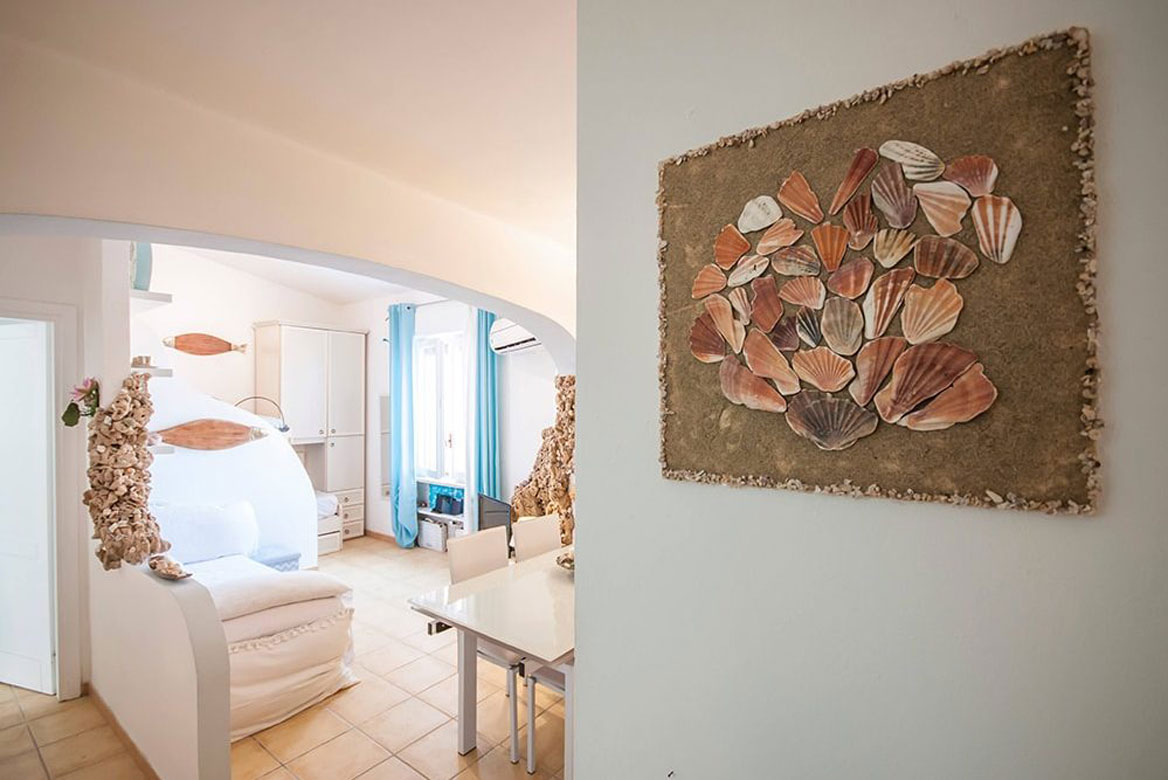 Kétszobás apartman_Castelsardo, Szardínia